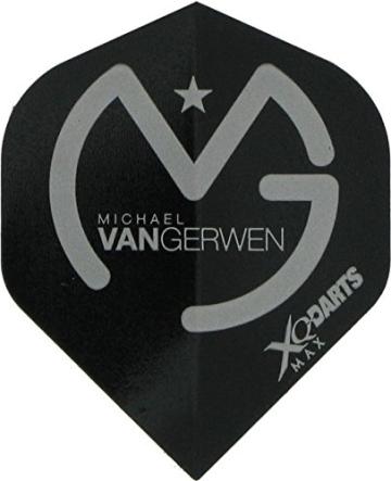 12 Stück Michael van Gerwen Steeldarts inkl. 1 Satz MvG Flights - 3