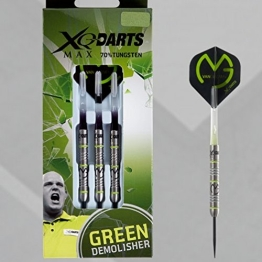 25g MICHAEL VAN GERWEN MVG grun DEMOLISHER TUNGSTEN DARTS SET - 1
