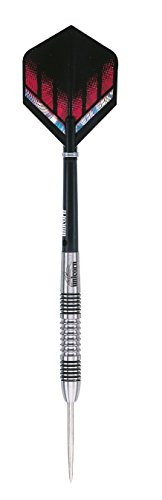 26g UNICORN SILVER STAR MICHAEL SMITH TUNGSTEN DARTS SET - 1