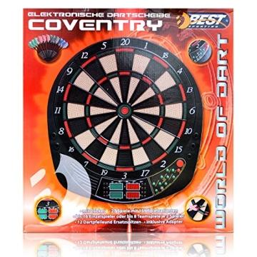 Best Sporting Elektronische Dartscheibe Coventry - 159 Spielvarianten - 2