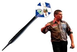 Black Star Soft Dart Pfeile mit Gary Anderson Flights Darts - 1