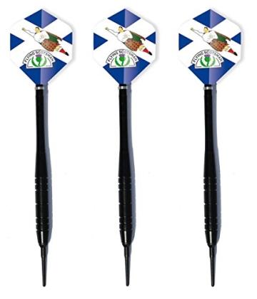 Black Star Soft Dart Pfeile mit Gary Anderson Flights Darts - 2
