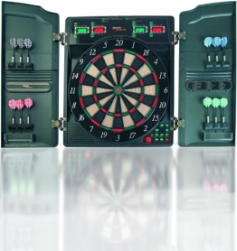 Dartboard Elektronische Dartscheibe Cricket Dart CB40CW - 1