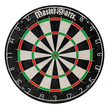 Darts Dartscheibe 4tlg. Michael van Gerwen Starter-Set 6 Steeldarts Dartboard - 1