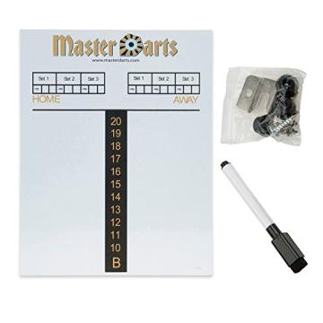 Darts Dartscheibe 4tlg. Michael van Gerwen Starter-Set 6 Steeldarts Dartboard - 4