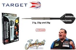 Darts TARGET Adrian Lewis Natur 90% Tungsten Steeldarts 23g - 1