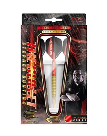 Dartset Steel 21 g Gen 2 The Bullet Stephen Bunting - 3