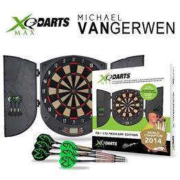 Elektronische Dartscheibe CBX-170 - Michael van Gerwen Dartboard - Dartspiel - Dart - inkl. Dartpfeile - 1