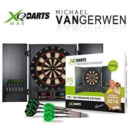 Elektronische Dartscheibe CBX-180 - Michael van Gerwen Dartboard - Dartspiel - Dart - inkl. Dartpfeile - 1