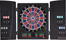 Elektronische Dartscheibe Dartona CB160 Cabinett - Turnierscheibe mit 33 Spielen und über 160 Varianten - 1