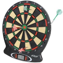 Elektronische Dartscheibe elektronisches Dartboard Darts Dartsport in drei verschiedenen Farben inkl. 6 Dartpfeilen - 1
