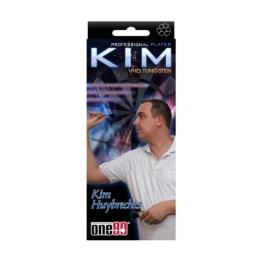 Kim Huybrechts One80 Soft-Dartpfeile, Stahlspitze mit Silber silber 23 g - 1