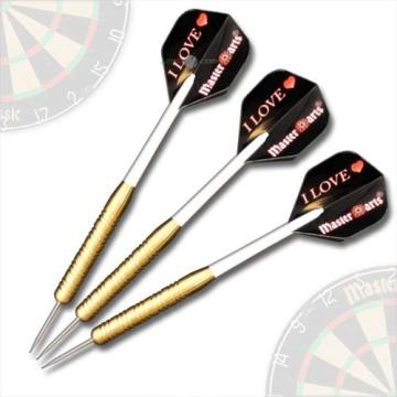Masterdarts® Brass 3 Steeldarts - Dartpfeile - Pfeile a 20 Gramm - 1