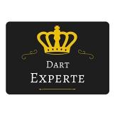 Mousepad Dart Experte schwarz - 1