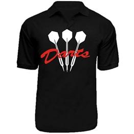 "Polo-Shirt Motiv ""Darts"" - 1"