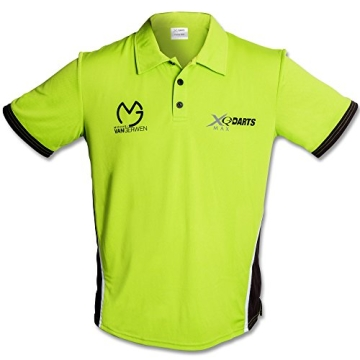 Poloshirt - Dartshirt - Trainingsshirt - Michael van Gerwen - MVG mit Größenauswahl (XL) - 1