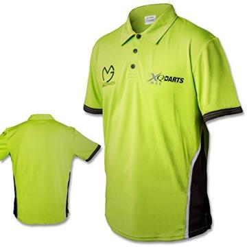 Poloshirt - Dartshirt - Trainingsshirt - Michael van Gerwen - MVG mit Größenauswahl (XL) - 2