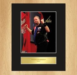 Raymond van Barneveld signiertes Foto Display - 1