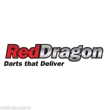 RED DRAGON PEGASUS TUNGSTEN SOFT TIP DARTPFEILE - 18g - White Red Dragon Shafts, White Winmau Flights, Case & Red Dragon Checkout Card - 7