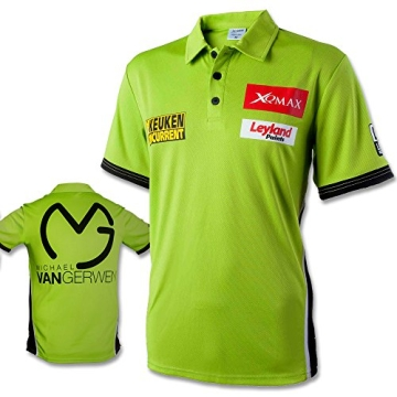 Shirt Michael van Gerwen mit Größenauswahl - Poloshirt - T-Shirt - Oberteil (M) - 1