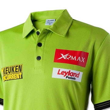 Shirt Michael van Gerwen mit Größenauswahl - Poloshirt - T-Shirt - Oberteil (M) - 2