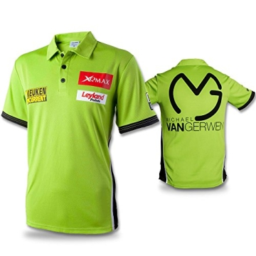 Shirt Michael van Gerwen mit Größenauswahl - Poloshirt - T-Shirt - Oberteil (M) - 3