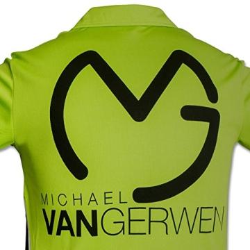 Shirt Michael van Gerwen mit Größenauswahl - Poloshirt - T-Shirt - Oberteil (M) - 4
