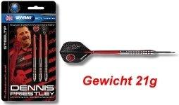 Steeldart Steel Dart Pfeile Winmau Dennis Priestley 21 g - 3er S - 1