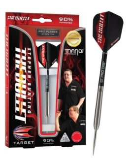 Target Darts Dartpfeile Stephen Bunting, 90% Wolfram, mit Stahlspitze, 23g - 1