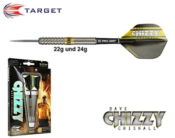 TARGET Dave Chisnall Chizzy Pixelgrip 90% Steeldart 22g - 1