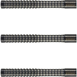 Target Phil Taylor POWER 8ZERO BLACK TITANIUM 19G SOFT TIP DARTS - 1