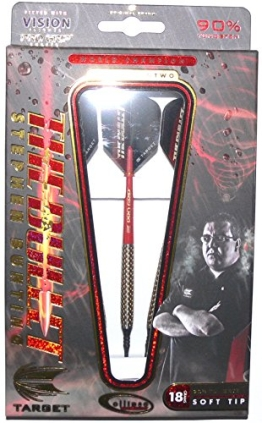 Target Stephen Bunting Ellipse GEN2 Softdarts 18g + 1 Satz EMPIRE®TM Flights GRATIS!!! - 1