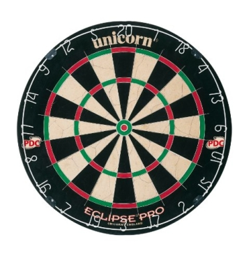 Unicorn Bristle Dartboard Eclipse, 054722794037 - 1