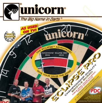 Unicorn Bristle Dartboard Eclipse, 054722794037 - 3