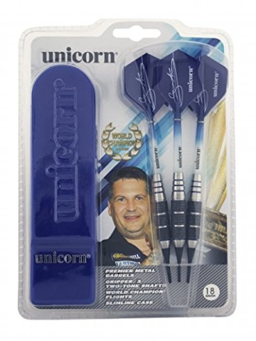 Unicorn Gary Anderson Mass Merchant Softdarts im Slimline Case Typ: 18 gr. - 2