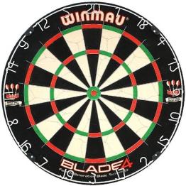 Winmau Steeldartboard Blade IV, beige/schwarz, 3006 - 1