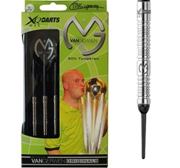 XQMax Darts MVG 18Gr Tungsten Soft Tip Darts - 1